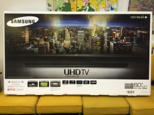 "60"" Samsung smart tv"