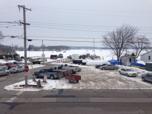Photo from the bar 2015 ice fishery